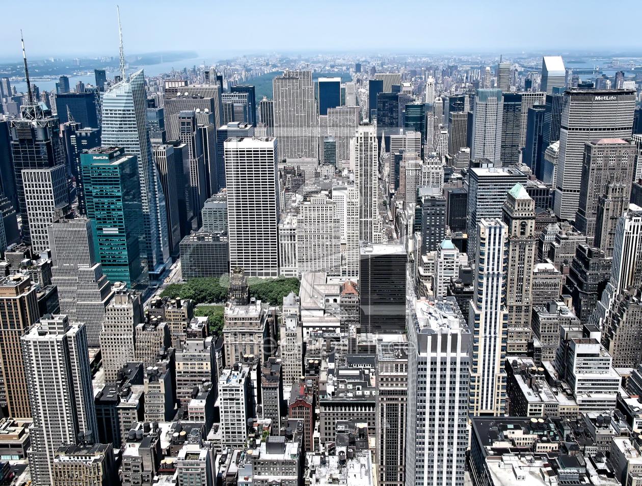 new york skyline manhattan als tischaufsteller von li. Black Bedroom Furniture Sets. Home Design Ideas