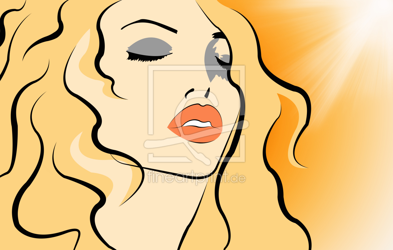 Bild-Nr.: 10288323 beautiful face in Pop Art style erstellt von nicky234