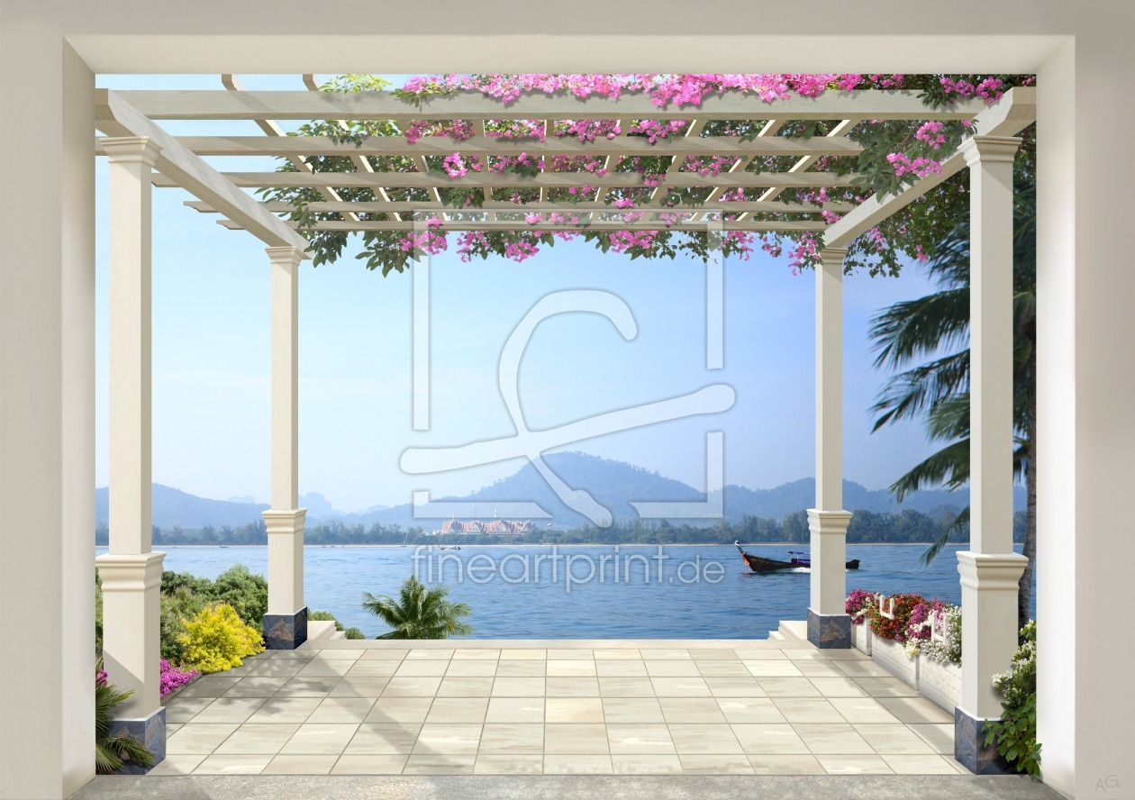 Summer dream (Thailand) als Leinwand von AG-art erhältlich bei Fi...