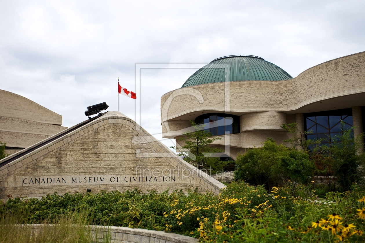 Canadian museum of civilization als leinwand von rowi for Museum of civilization quebec