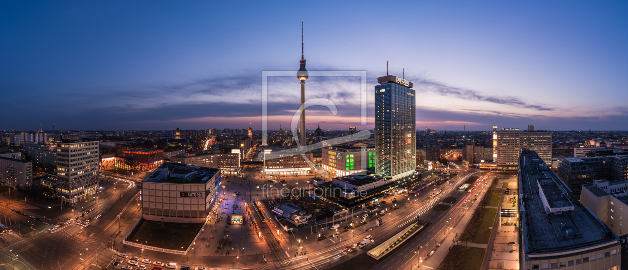 berlin skyline alexanderplatz als t rfolie von jean cla. Black Bedroom Furniture Sets. Home Design Ideas