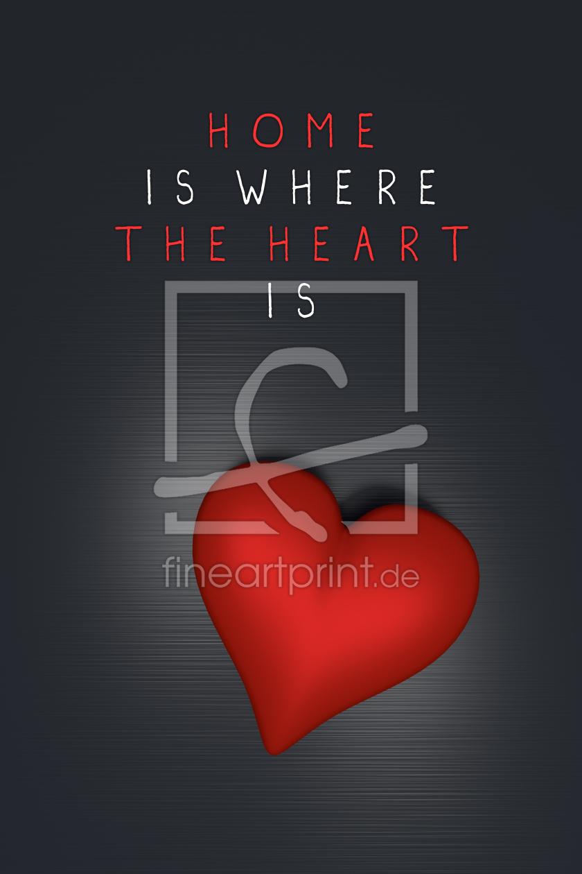 home is where the heart is als t rfolie von dresdner er. Black Bedroom Furniture Sets. Home Design Ideas