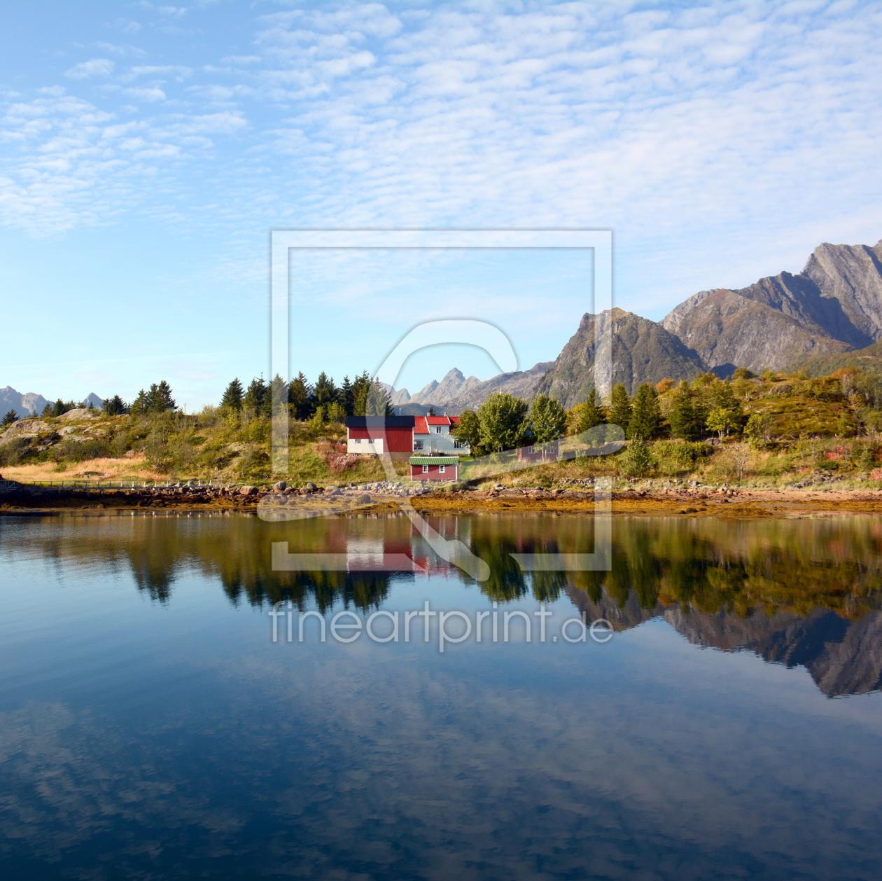 Wohnen am Fjord als Tasse von GUGIGEI erhältlich bei Fine