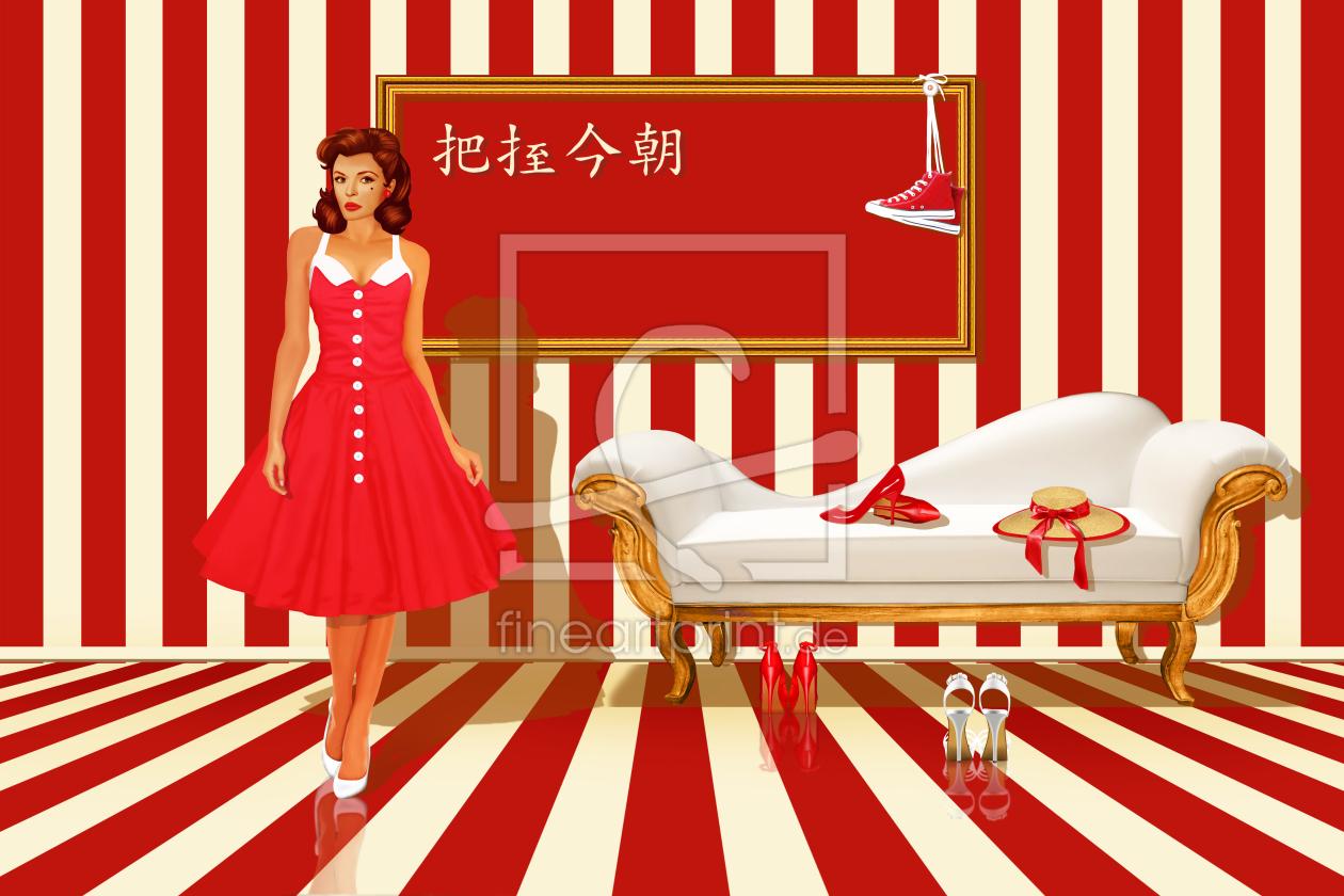 Rot Sind Alle Meine Kleider