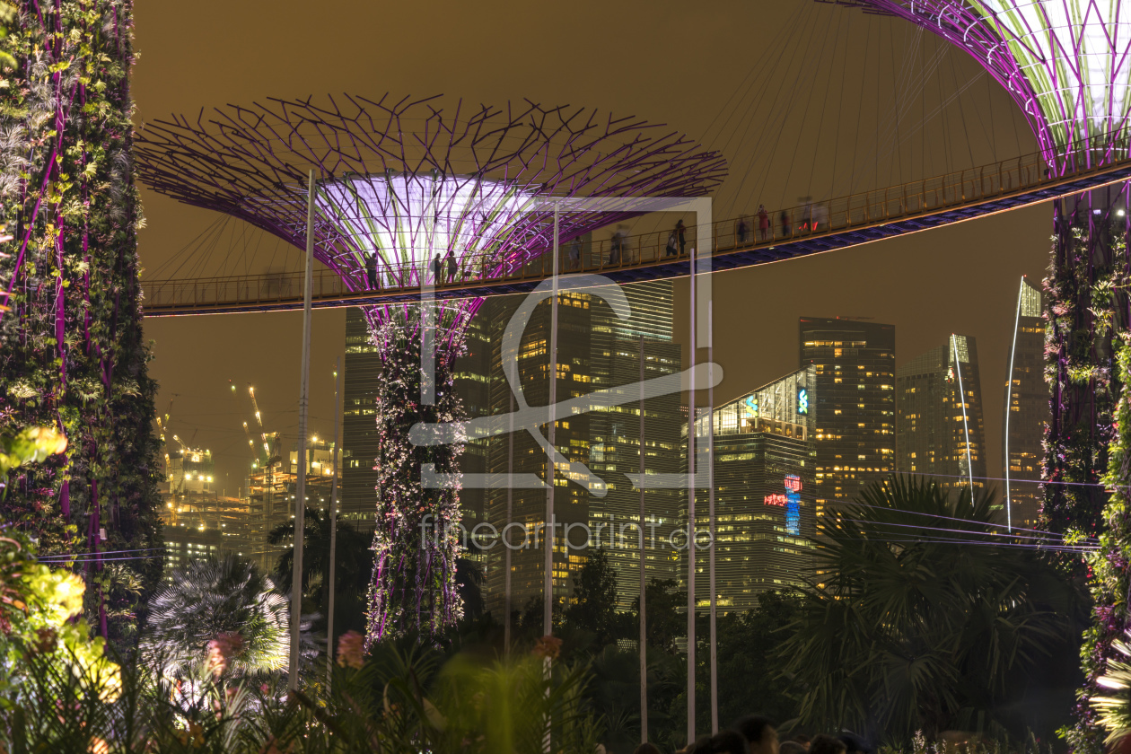 Bild-Nr.: 11646146 Super Trees, Gardens by the Bay, Singapur, Asien erstellt von connys-traumreisen