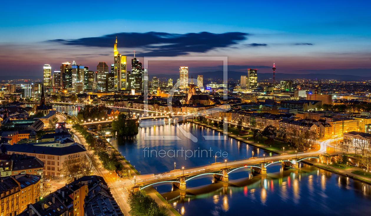 frankfurt skyline als fensterfolie von jens hollerith erh. Black Bedroom Furniture Sets. Home Design Ideas