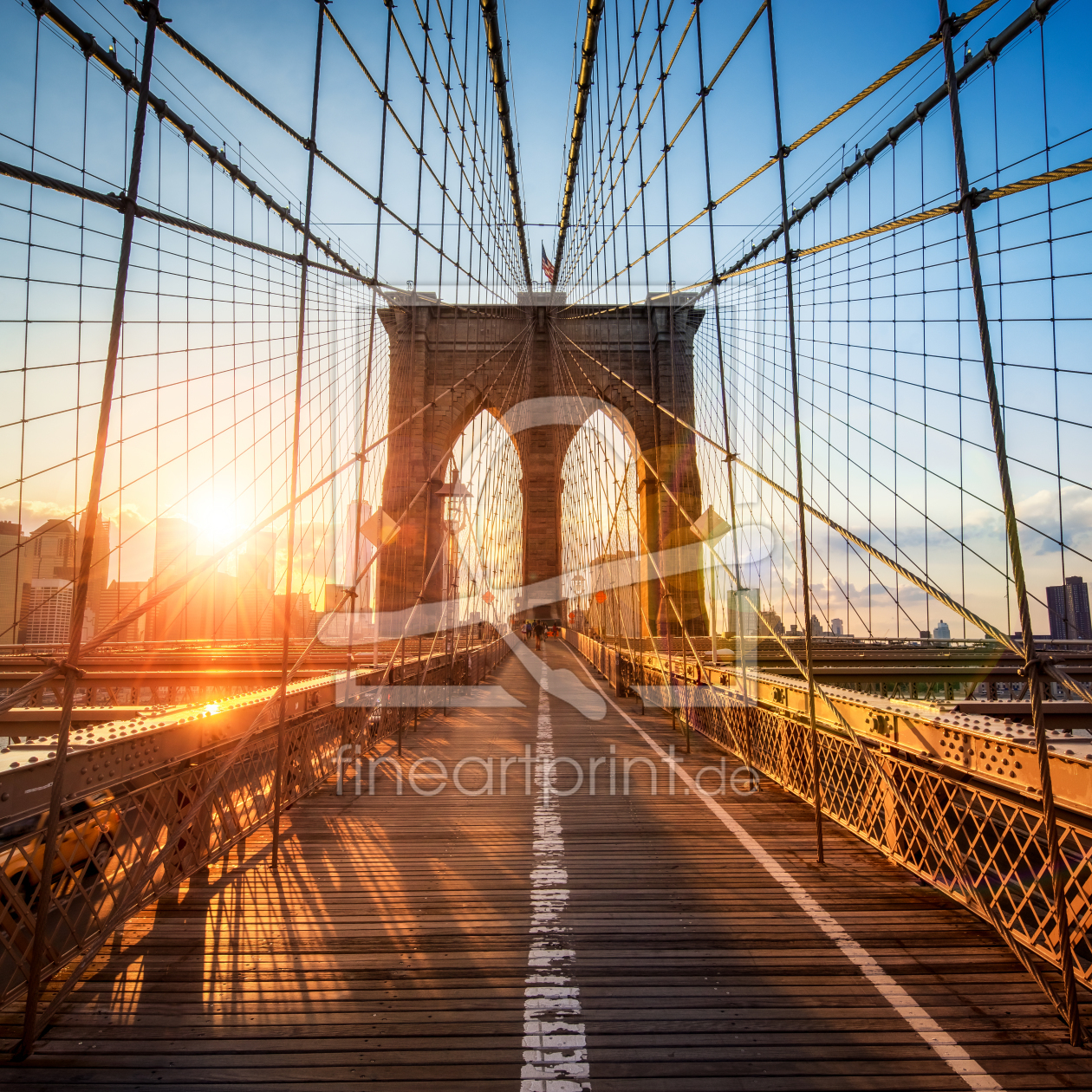 Bild-Nr.: 11966272 Brooklyn Bridge in New York City erstellt von eyetronic