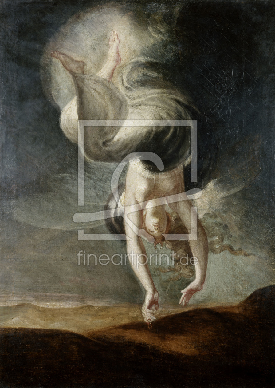 Bild-Nr.: 30000494 Fuseli / Titania finds the magic Ring erstellt von Fuessli, Johann Heinrich th.y.