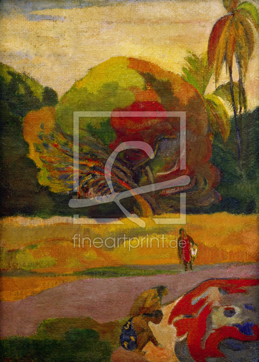 Bild-Nr.: 30000566 Paul Gauguin / Women by the River erstellt von Gauguin, Paul