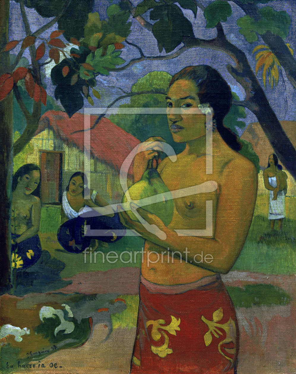 Bild-Nr.: 30000624 P.Gauguin / Where are you going / 1893 erstellt von Gauguin, Paul