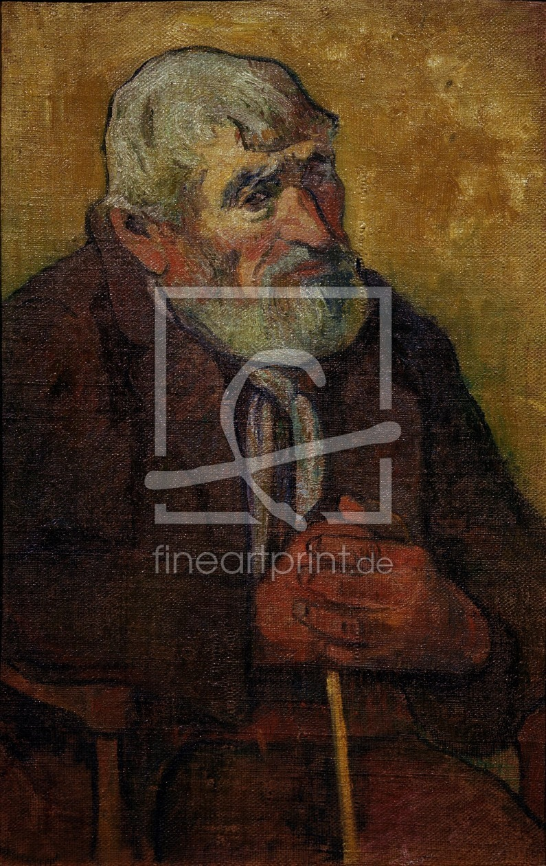 Bild-Nr.: 30000652 P.Gauguin / Old man with walking stick erstellt von Gauguin, Paul