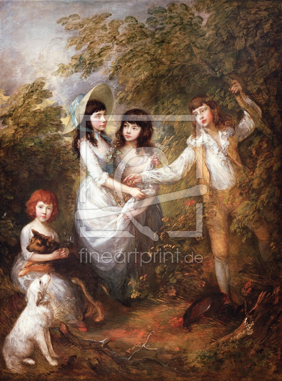 Bild-Nr.: 30000686 Thomas Gainsborough / Marsham Children erstellt von Gainsborough, Thomas