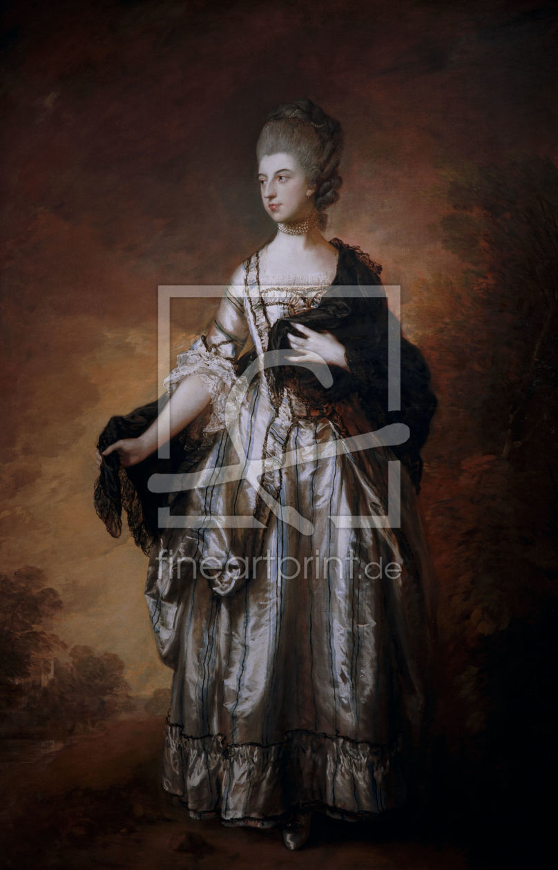 Bild-Nr.: 30000688 Th.Gainsborough, Isabella Molyneux erstellt von Gainsborough, Thomas