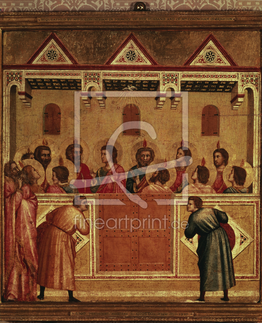 Bild-Nr.: 30001100 Outpouring of the Holy Spirit / Giotto erstellt von Giotto di Bondone