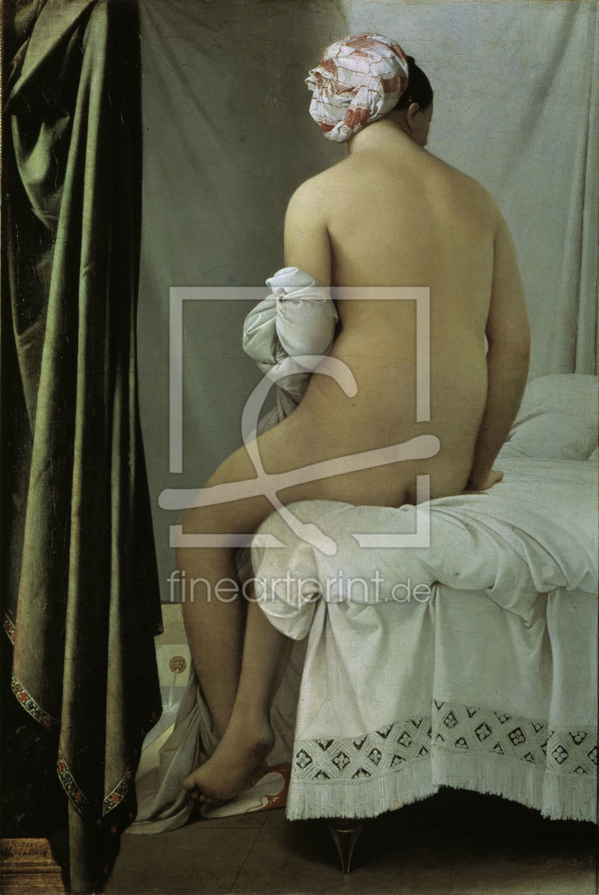 Bild-Nr.: 30001190 Ingres / The Bather / 1808 erstellt von Ingres, Jean-Auguste-Dominique