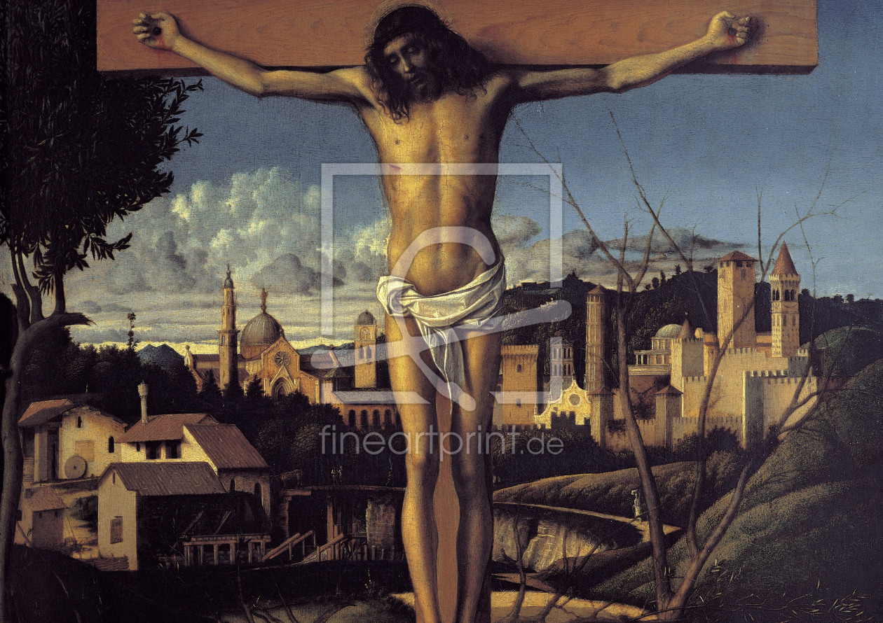 Bild-Nr.: 30001326 Giov.Bellini, Christ on the Cross erstellt von Bellini, Giovanni