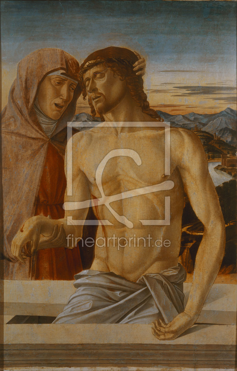 Bild-Nr.: 30001332 Bellini / Mary with the body of Christ erstellt von Bellini, Giovanni