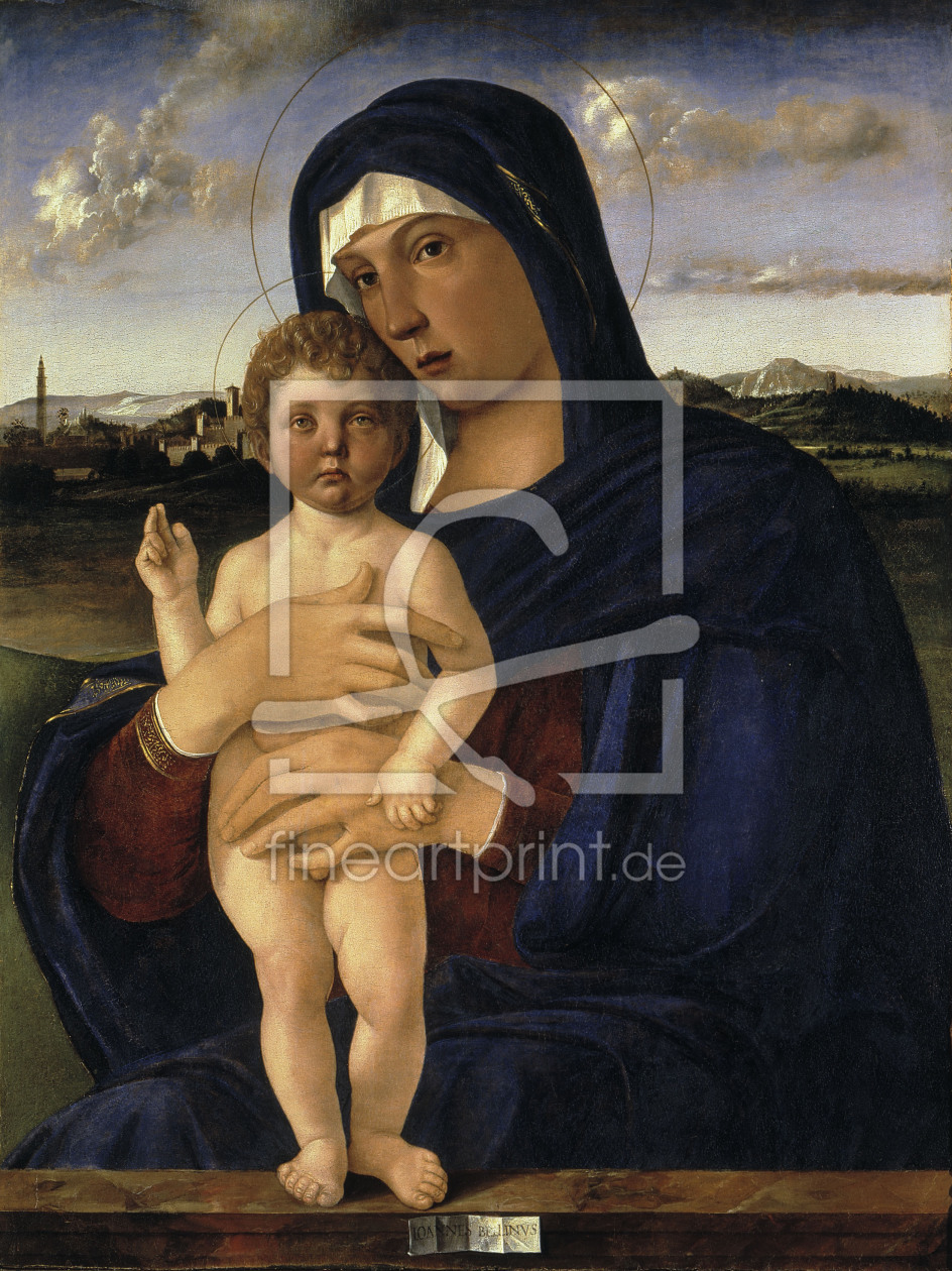 Bild-Nr.: 30001350 Mary and Child / Bellini / c.1475/80 erstellt von Bellini, Giovanni
