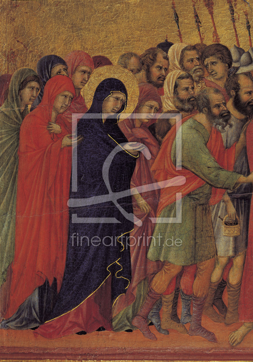 Bild-Nr.: 30001426 Duccio / Christ Carrying the Cross /Ptg. erstellt von Bellini, Giovanni