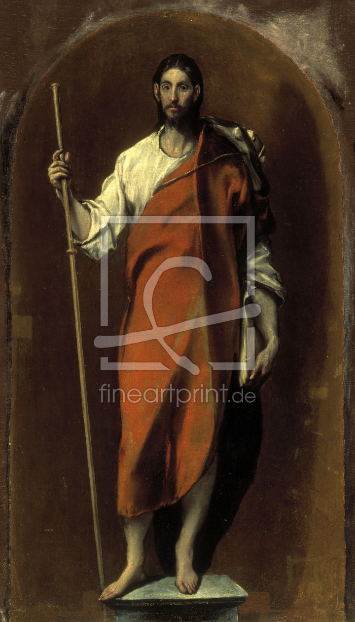 Bild-Nr.: 30001524 Saint James the Great / El Greco erstellt von Greco, El (Domenikos Theotokopoulos)