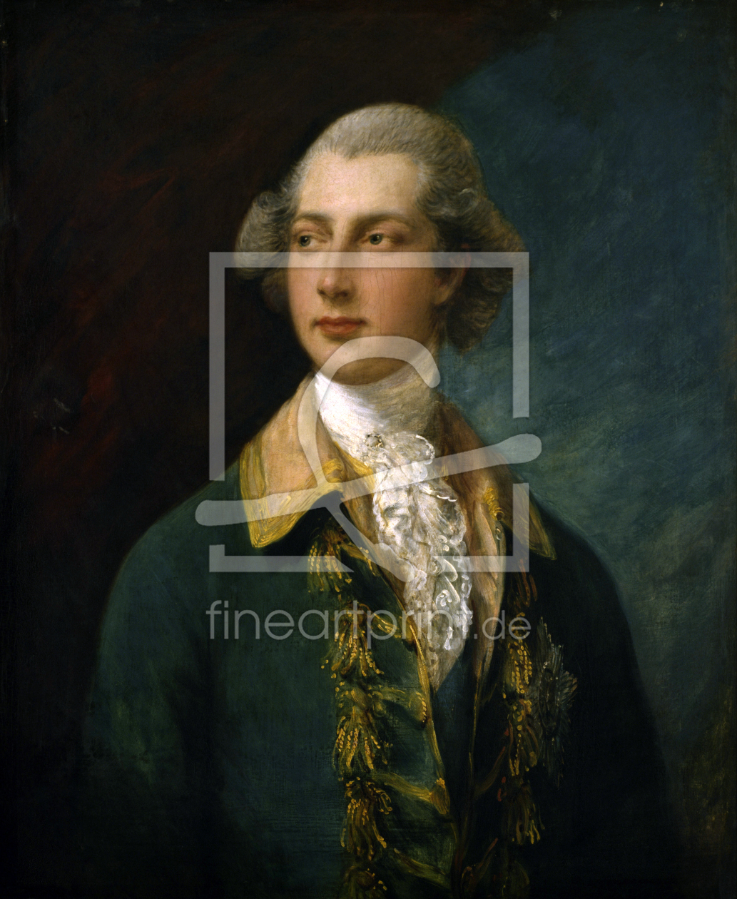 Bild-Nr.: 30001554 George IV of Great Britain /Gainsborough erstellt von Gainsborough, Thomas