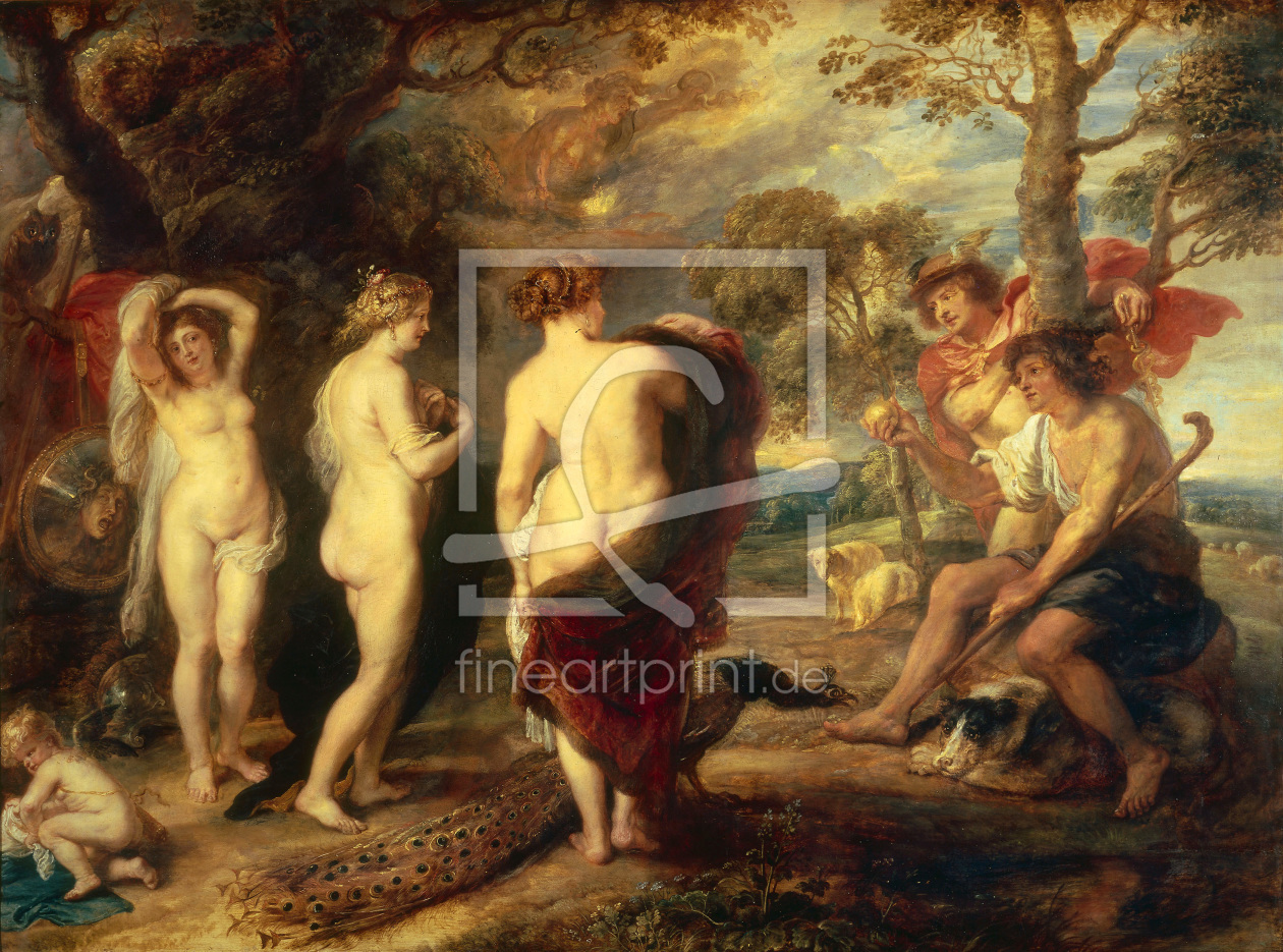 Bild-Nr.: 30005140 P. P. Rubens / The Judgement of Paris erstellt von Rubens, Peter Paul