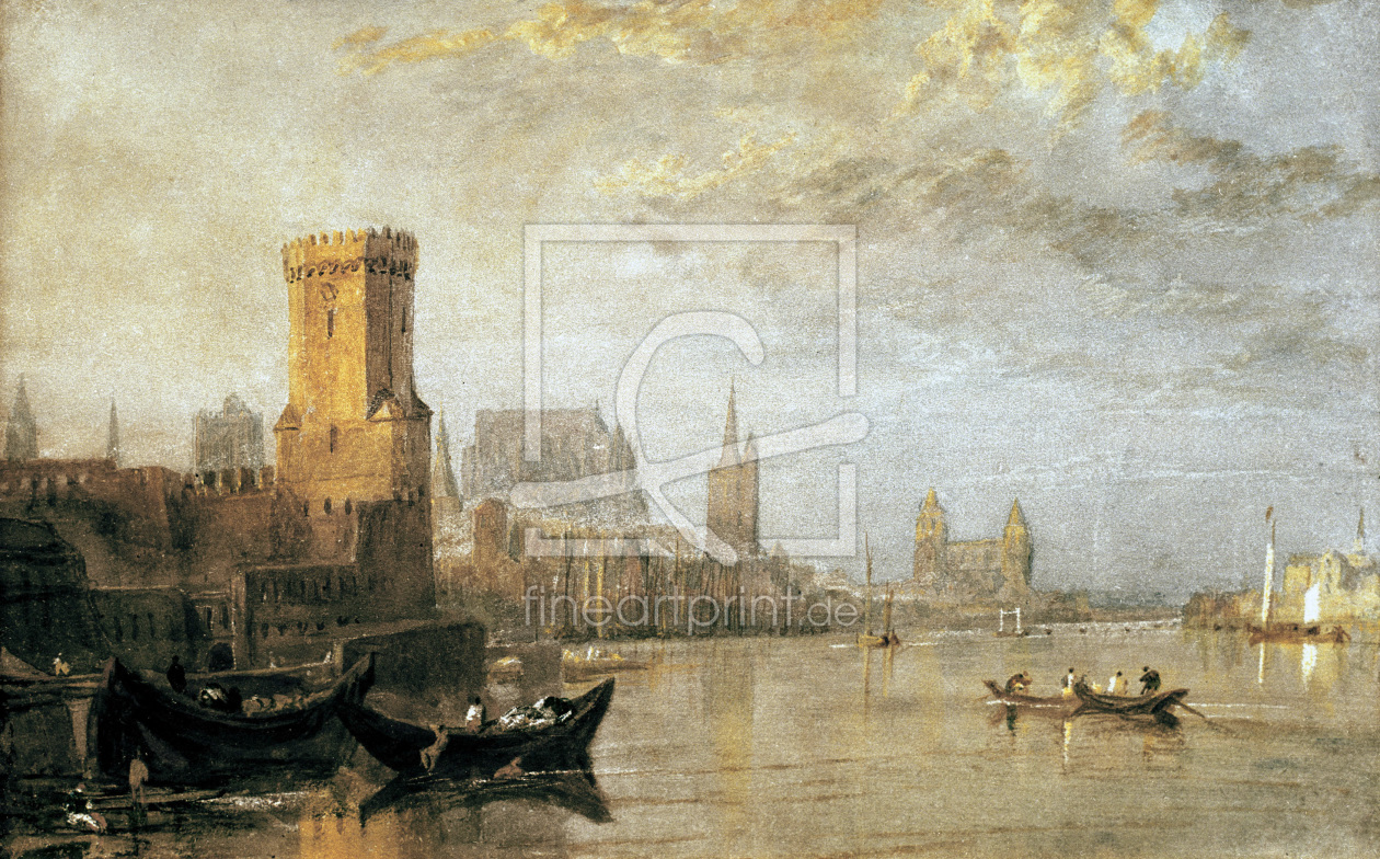 Bild-Nr.: 30008007 William Turner / Cologne erstellt von Turner, Joseph Mallord William