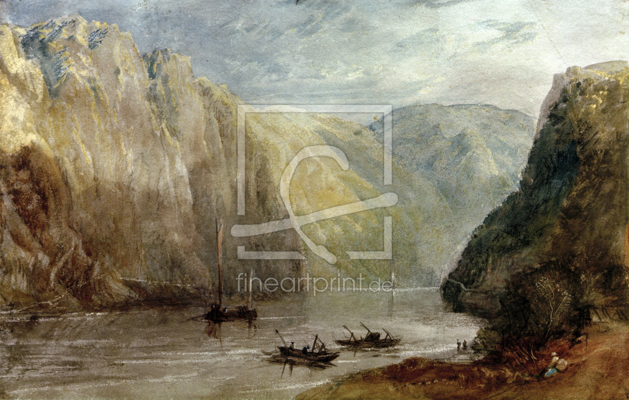 Bild-Nr.: 30008041 William Turner, Lurleiberg erstellt von Turner, Joseph Mallord William