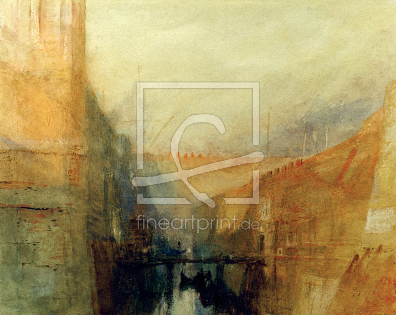 Bild-Nr.: 30008067 W.Turner, Venice, The Arsenal erstellt von Turner, Joseph Mallord William