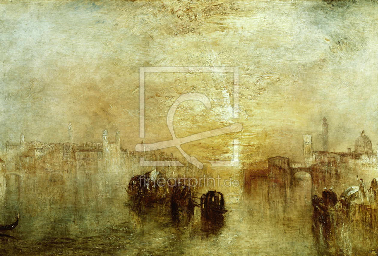 Bild-Nr.: 30008079 W.Turner, Venice, Going to the Ball erstellt von Turner, Joseph Mallord William