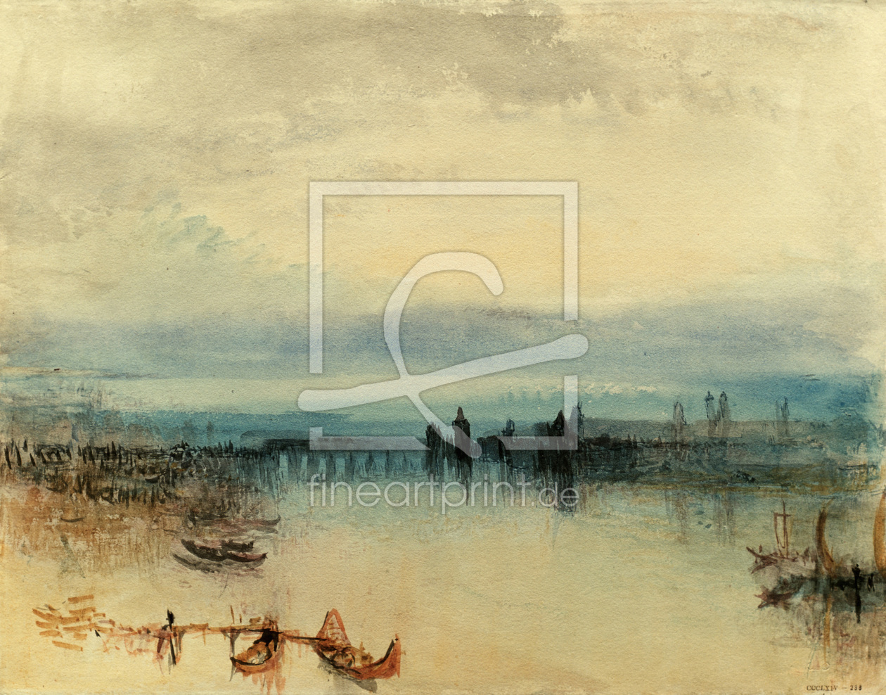 Bild-Nr.: 30008185 William Turner, Konstanz erstellt von Turner, Joseph Mallord William