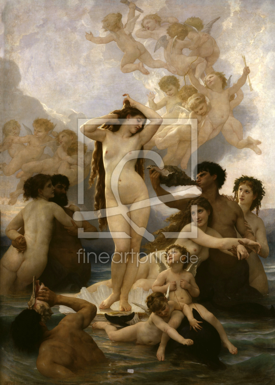 Bild-Nr.: 30008721 Bouguereau / Birth of Venus erstellt von Bouguereau, William Adolphe