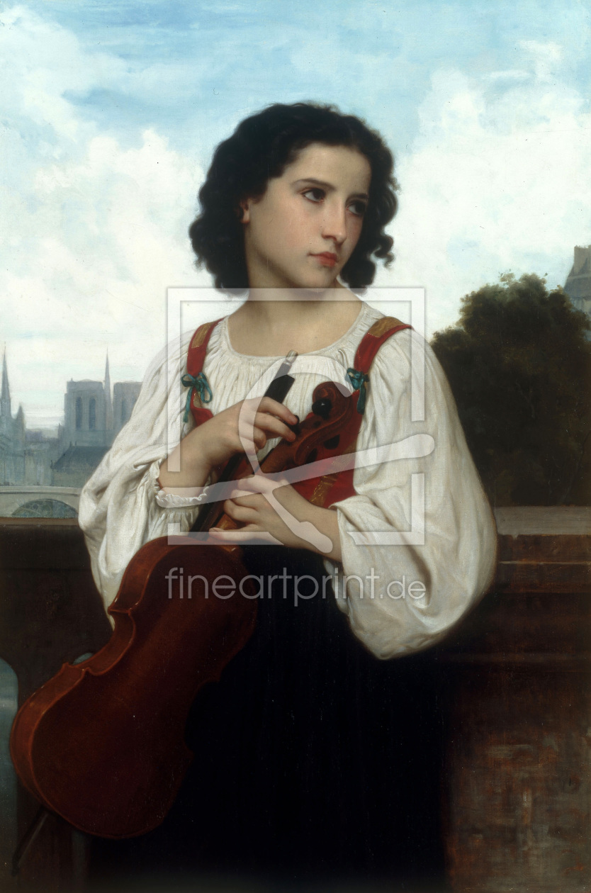 Bild-Nr.: 30008729 W. A. Bouguereau / Alone in the World erstellt von Bouguereau, William Adolphe