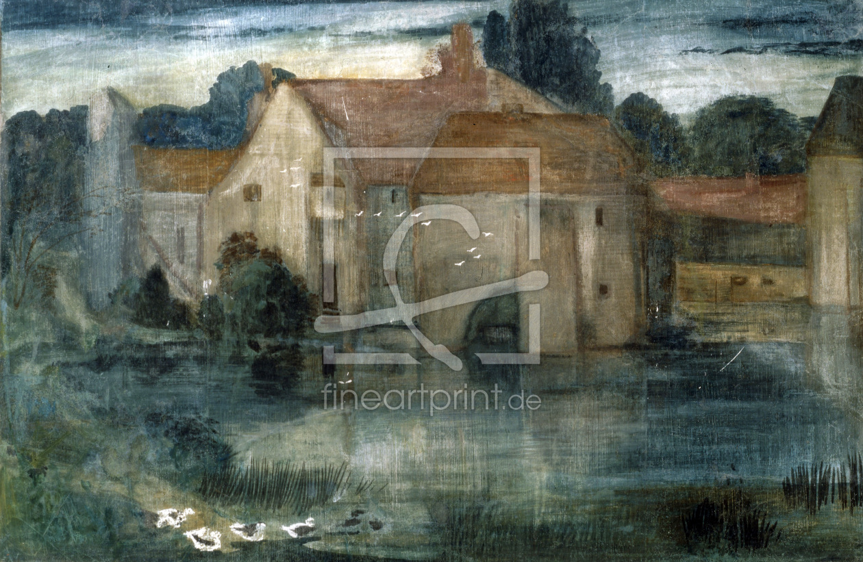 Bild-Nr.: 30009062 E.Burne-Jones / The Watermill / 1890s erstellt von Burne-Jones, Edward