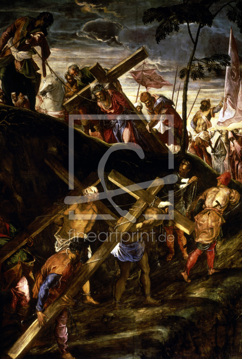 Bild-Nr.: 30009415 Tintoretto, Christ Carrying Cross erstellt von Tintoretto, Jacopo