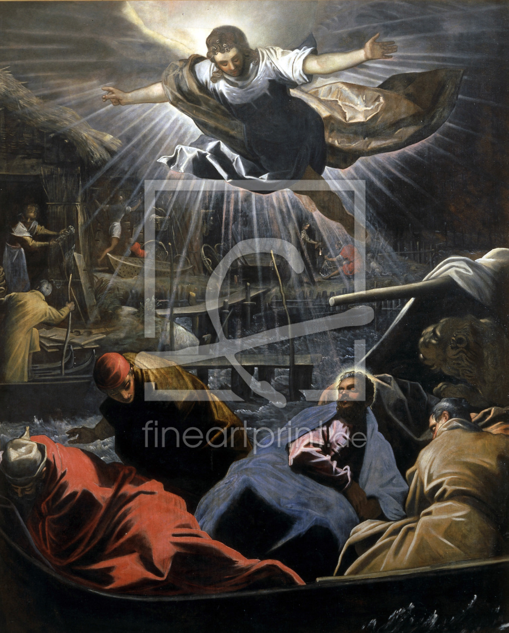 Bild-Nr.: 30009485 Tintoretto / Dream of St.Mark / Paint. erstellt von Tintoretto, Jacopo