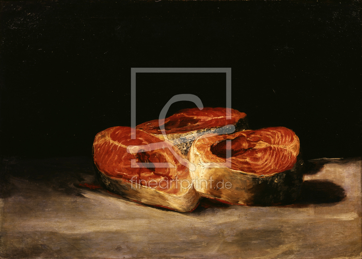 Bild-Nr.: 30009907 Goya / Still life with slices of salmon erstellt von Goya, Francisco de
