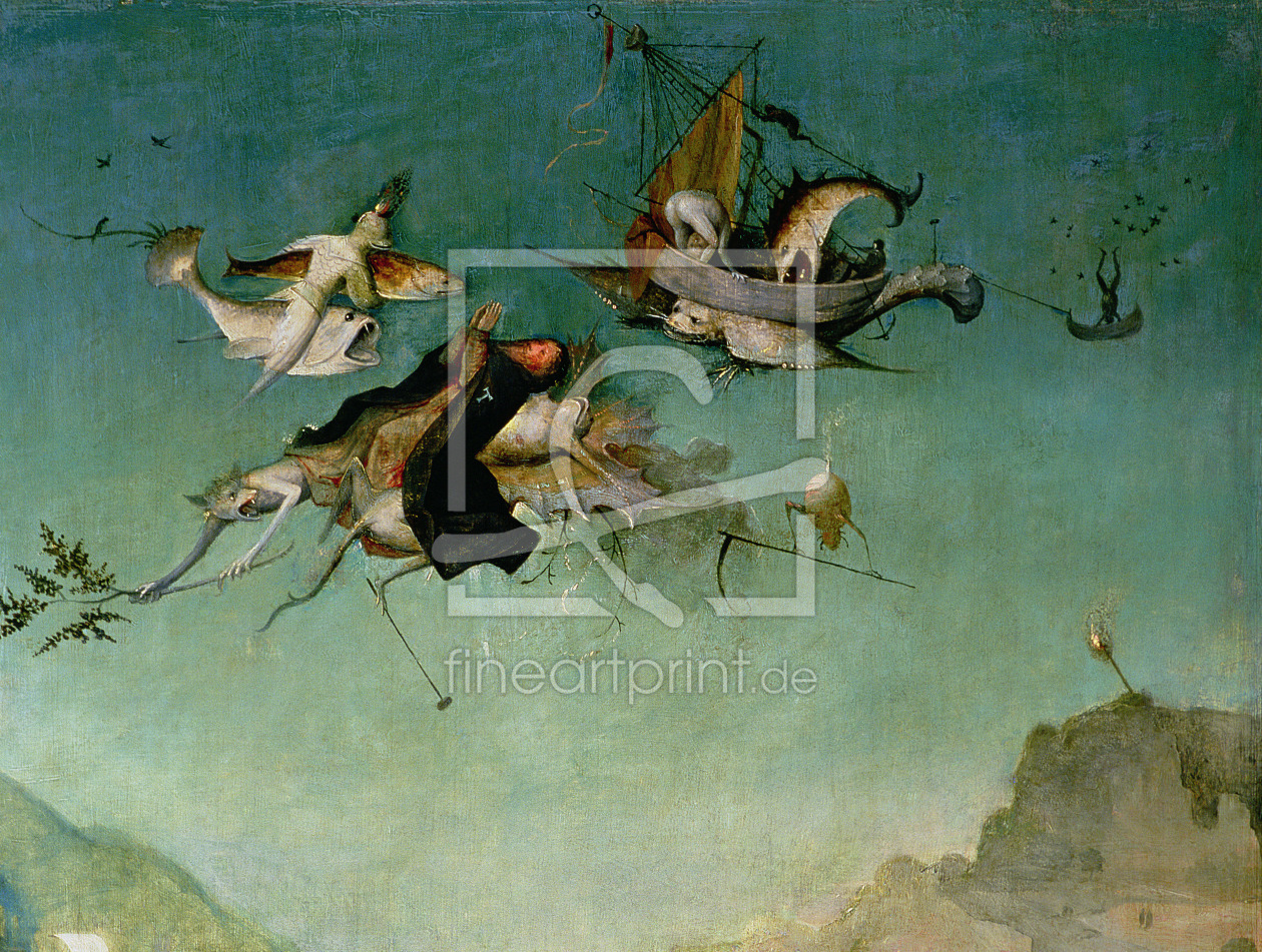 Bild-Nr.: 31000064 Temptation of St.Anthony, detail of left hand panel, erstellt von Bosch, Hieronymus
