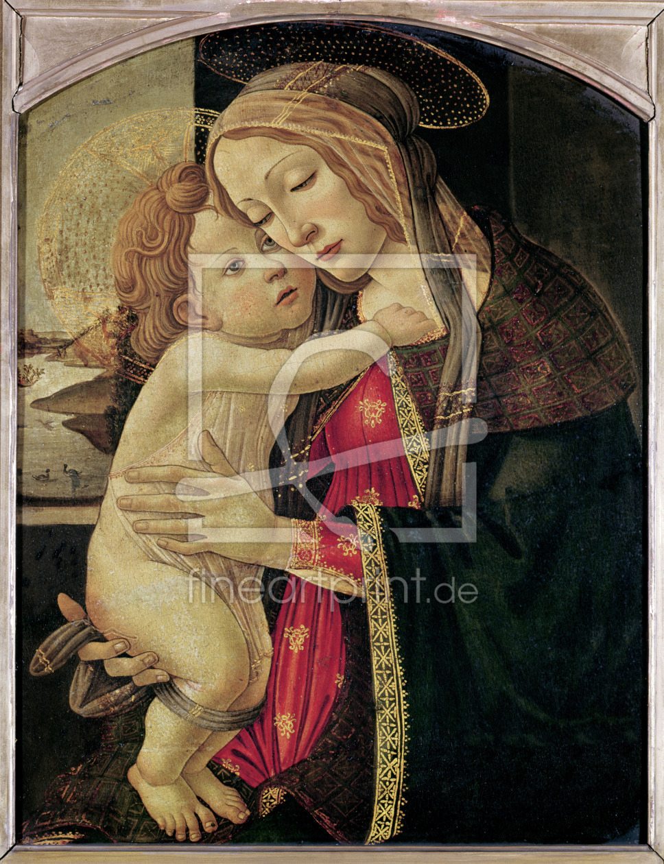 Bild-Nr.: 31000109 The Virgin and Child, c.1500 erstellt von Botticelli, Sandro