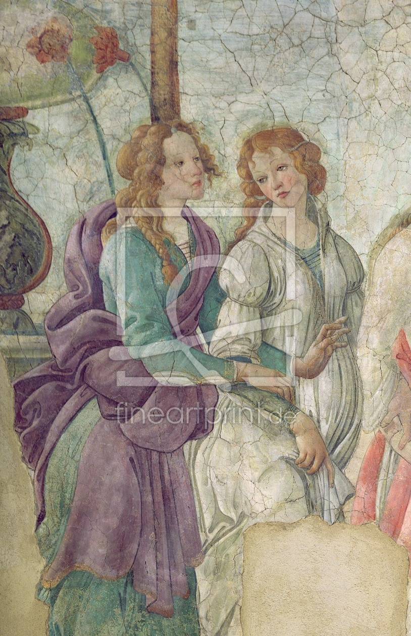 Bild-Nr.: 31000115 Detail of Venus and the Graces offering gifts to a young girl, 1486 erstellt von Botticelli, Sandro