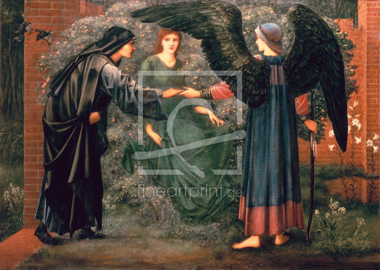 Bild-Nr.: 31000146 Heart of the Rose erstellt von Burne-Jones, Edward