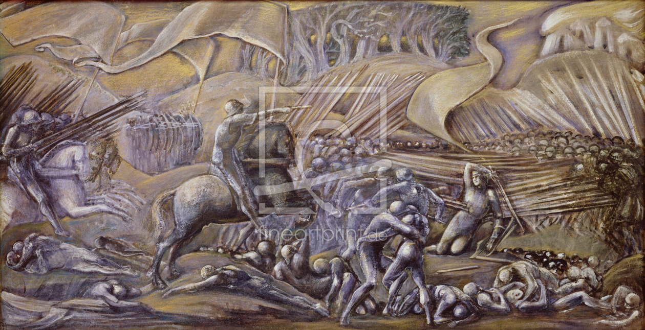Bild-Nr.: 31000154 The Battle of Flodden Field, 1882 erstellt von Burne-Jones, Edward