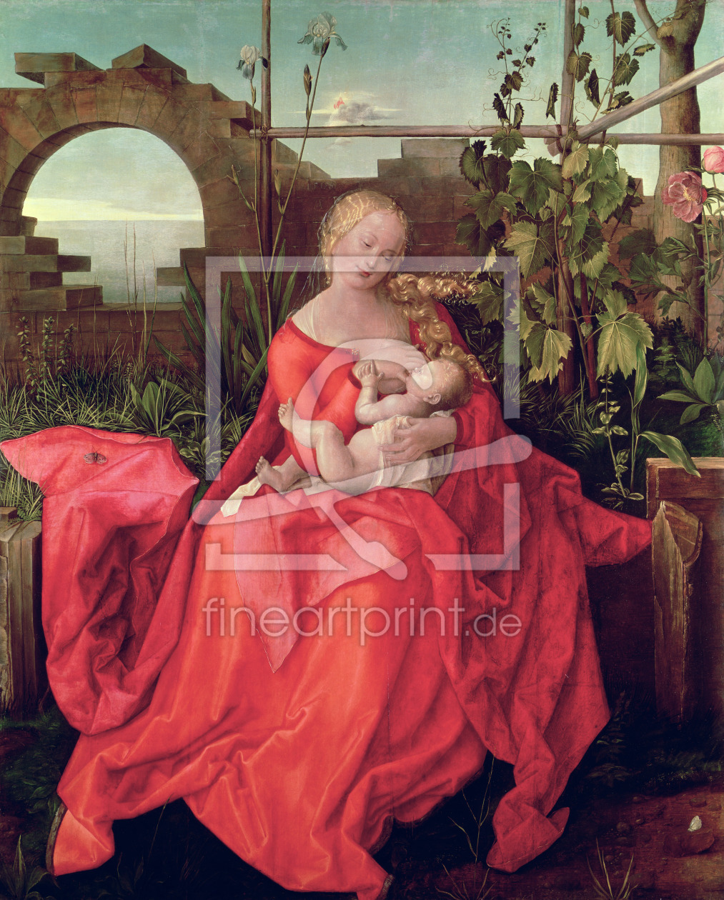 Bild-Nr.: 31000367 Virgin and Child 'Madonna with the Iris', 1508 erstellt von Dürer, Albrecht