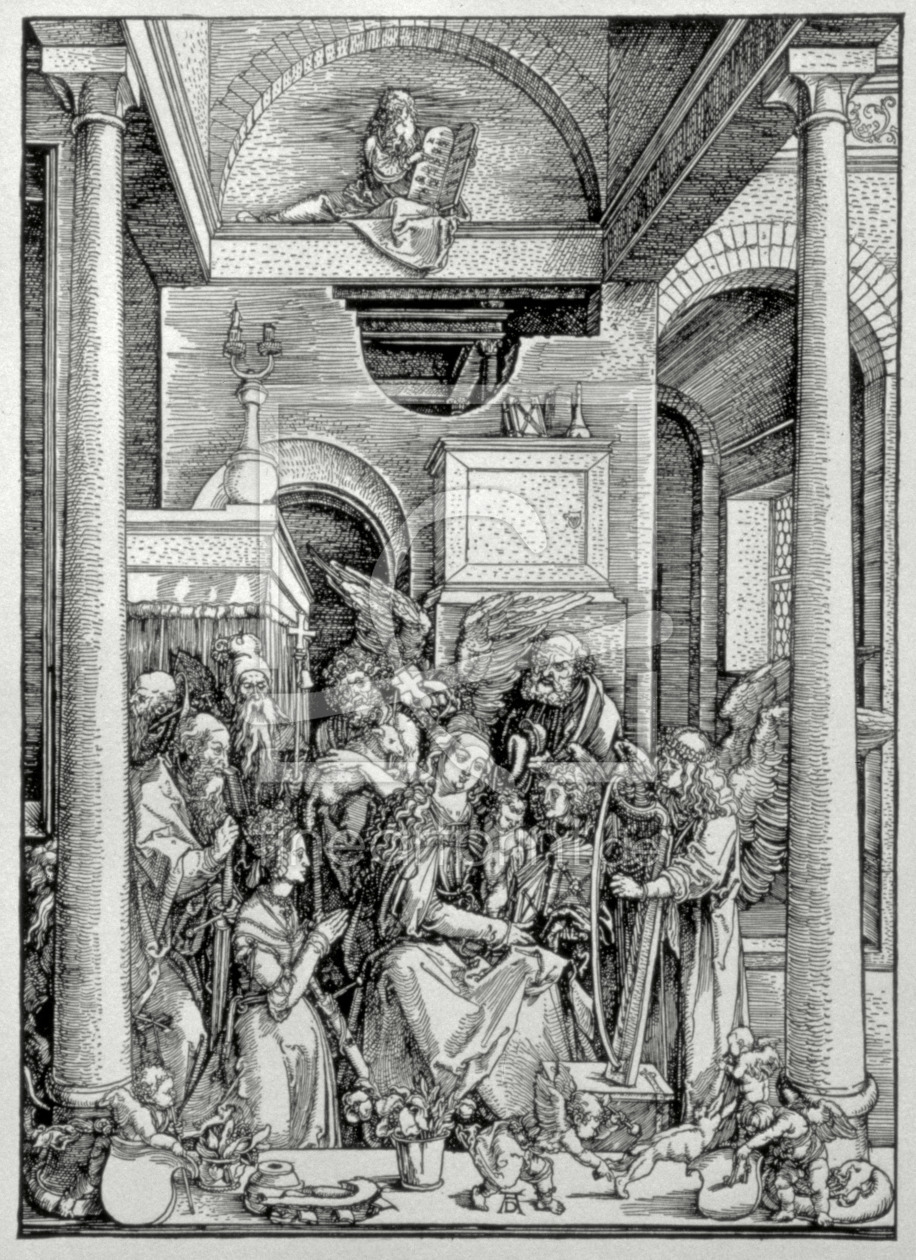 Bild-Nr.: 31000386 The Virgin and Child with Saints erstellt von Dürer, Albrecht