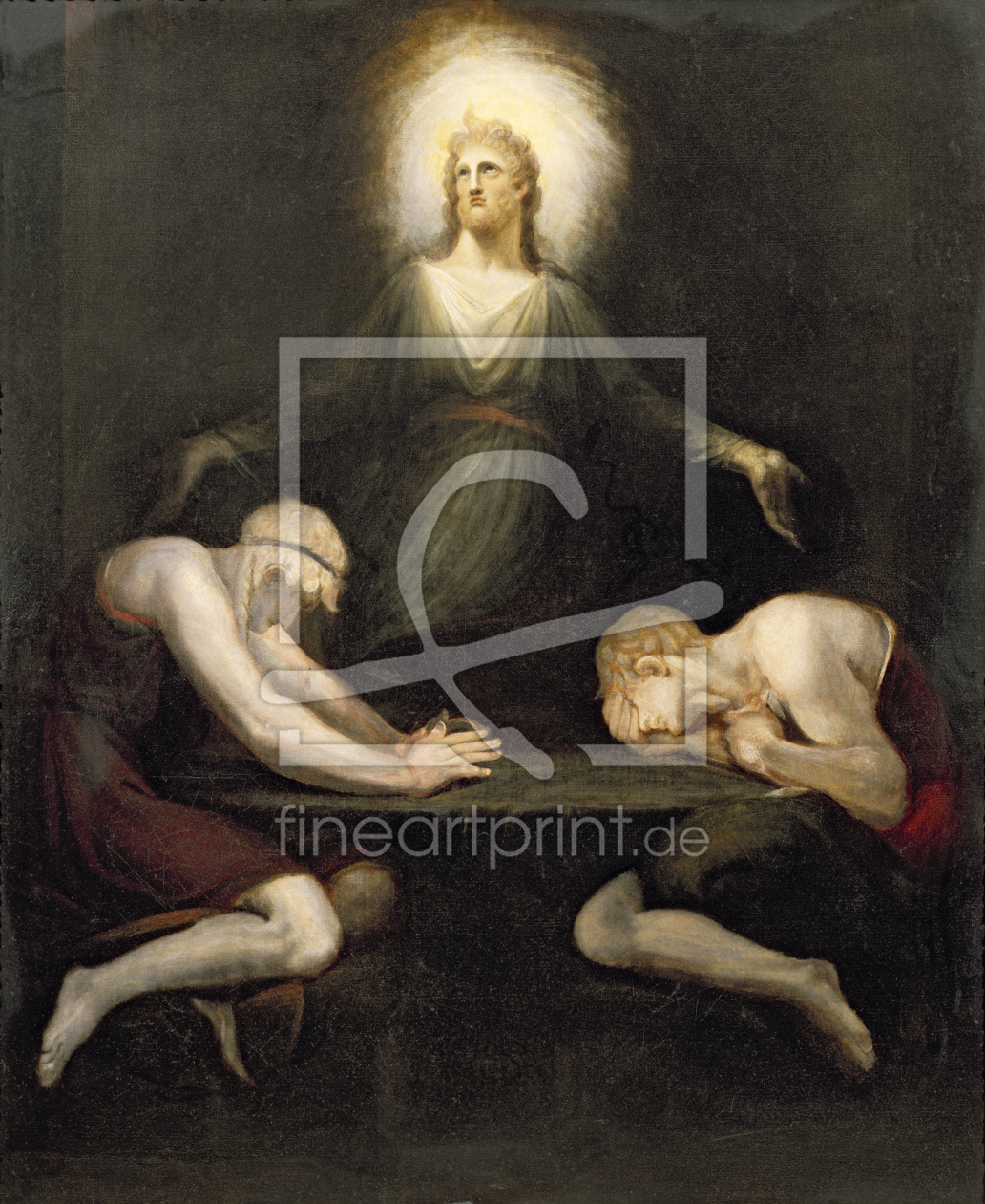 Bild-Nr.: 31000433 The Appearance of Christ at Emmaus, 1792 erstellt von Fuessli, Johann Heinrich th.y.