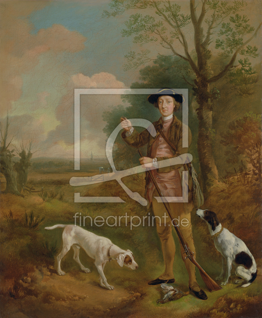 Bild-Nr.: 31000441 Major John Dade of Tannington, Suffolk, c.1755 erstellt von Gainsborough, Thomas