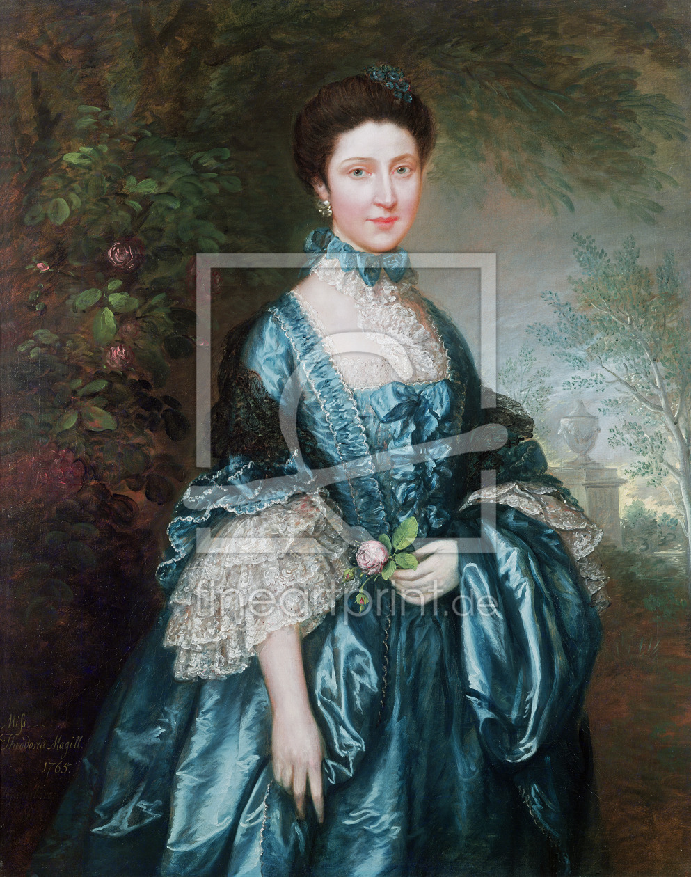 Bild-Nr.: 31000442 Miss Theodosia Magill, Countess Clanwilliam , 1765 erstellt von Gainsborough, Thomas