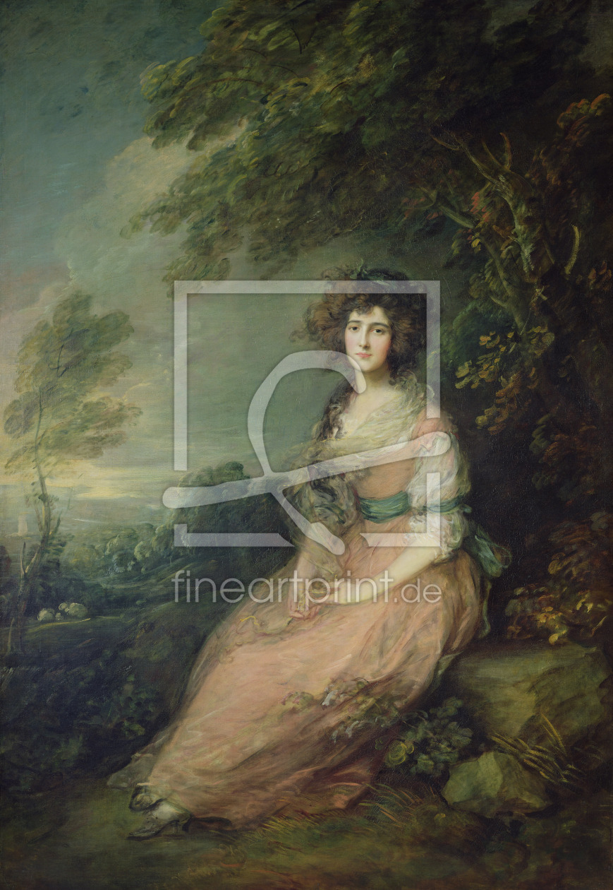 Bild-Nr.: 31000446 Mrs. Richard Brinsley Sheridan, c.1785-87 erstellt von Gainsborough, Thomas