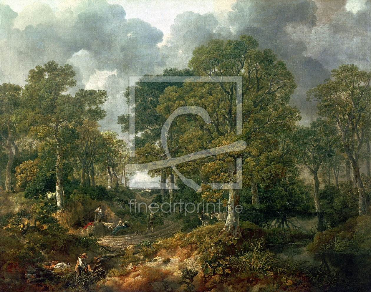 Bild-Nr.: 31000455 Gainsborough's Forest , c.1748 erstellt von Gainsborough, Thomas
