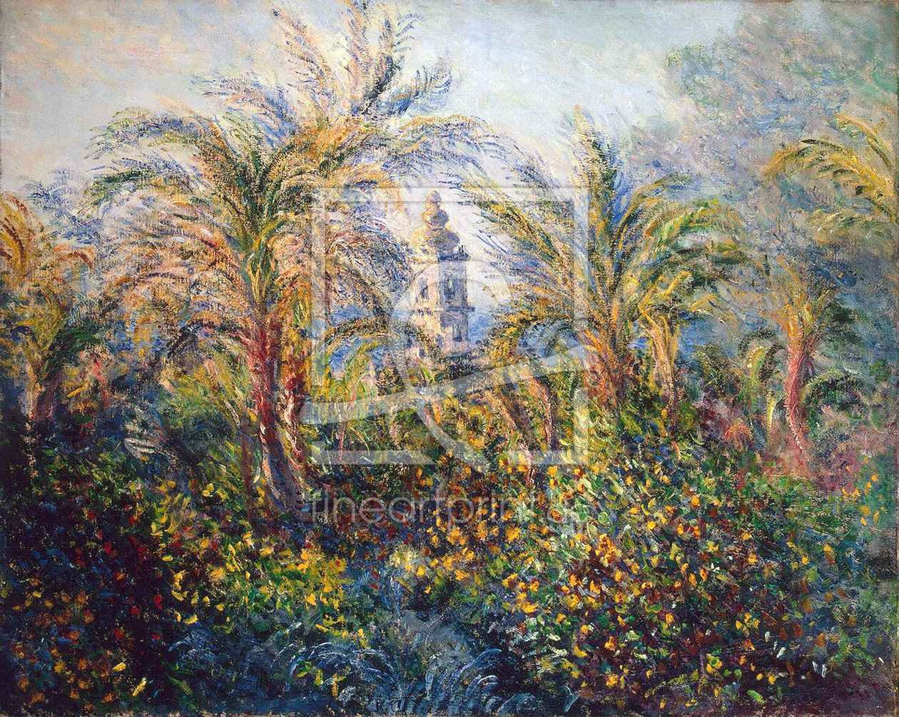 Bild-Nr.: 31000853 Garden in Bordighera, Impression of Morning, 1884 erstellt von Monet, Claude